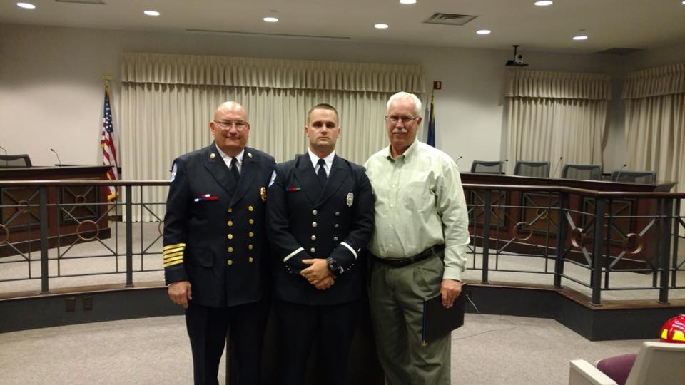 Jenkins joins LFD's ranks | City of Lawrence, Indiana